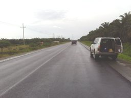 Paving Starting On Costa Rica's Coastal Highway From Quepos to Dominical