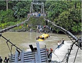 Costa Rica Govenment to Repair Bridges after Tragedy