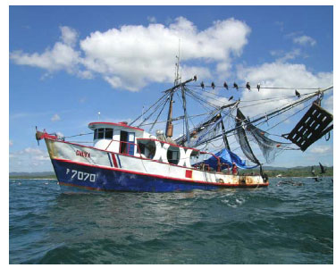 Costa Rica Commercial Fishing Fleet Is being Tracked by Satellite