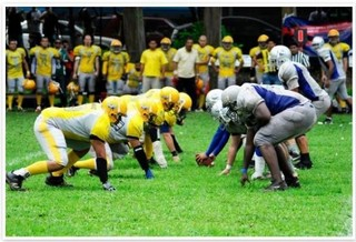 American Football is Alive in Costa Rica – Invited to Football World Cup in Mexico City, 2012