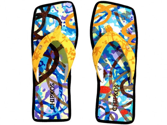 Protecting Costa Rica's Rainforest – Most Expensive ($18,000) Flip-flops – Chipkos