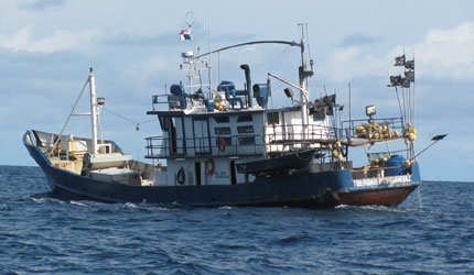 Panama fishing vessel