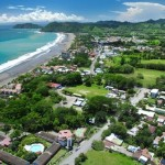 Jaco Beach, Costa Rica, from south to north