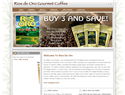 screenshot ofRios De Oro Coffee - Costa Rica