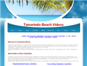 screenshot of Tamarindo Beach Videos