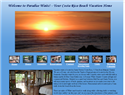 screenshot of Luxury Costa Rica Beach Vacation Houses