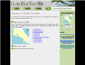 screenshot of Costa Rica Tour Site