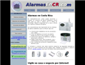 screenshot of Alarmas en Costa Rica - Alarms