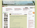 screenshot of A Panama Guide - City Info, Tidbits and News