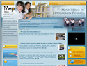 screenshot of Minister of Public Education - Ministerio de Education de Costa Rica