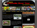 screenshot of Jose's Crocodile River Tour in Costa Rica