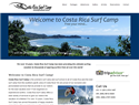 screenshot of Costa Rica Surf Camp