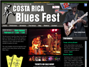 screenshot of Costa Rica Blues Festival