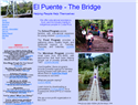 screenshot of El Puente, The Bridge - Helping Indigenous People in Costa Rica