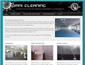screenshot of Cleaning Systems and Company in San Diego