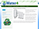 screenshot of Water 4 Systems - California Benefit Corporation