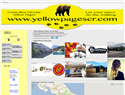 screenshot of Yellow Pages Costa Rica