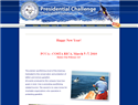 screenshot of Presidential Challenge -  Charitable Foundation Protecting Billfish