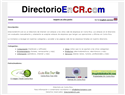 screenshot of Directory in Costa Rica - DirectorioEnCR.com