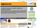 screenshot ofInforma-Tico - Online Newspaper