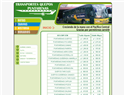 screenshot of Bus Schedules From Quepos to Puntarenas, Costa Rica