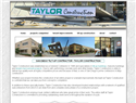 screenshot of San Diego Tiltup Contractor - Taylor Costruction