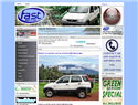 screenshot of Fast Rent a Car - Costa Rica