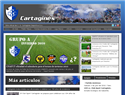 screenshot of Club Sport Cartaginés Sociedad Anónima Deportiva (C.S.C)