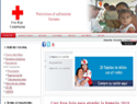 screenshot of Oficial CRUZ ROJA COSTARRICENSE - Red Cross in Costa Rica