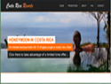 screenshot of Costa Rica Resorts
