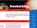 screenshot of Basketball Betting