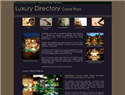 screenshot of Luxury Directory Costa Rica