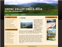 screenshot of Orosi Valley of Costa Rica
