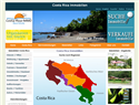 screenshot of Costa Rica Immobilien, Costa Rica Real Estate, Costa Rica Bienes Raices