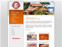 screenshot of Products Caribe - Roof Tiles and Spanish Pavers