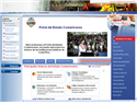 screenshot of Costa Rican Government Portal