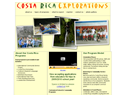 screenshot of Costa Rica Explorations