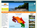 screenshot of Immobilien Costa Rica Real Estate