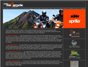 screenshot of Costa Rica Motorcycle Tours & Rentals