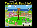screenshot of Tamarindo Beach Info