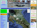 screenshot of Costa Rica Gay Map