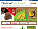 screenshot of Tropicakes and Rainforest Rum Cakes