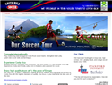 screenshot of Costa Rica Soccer Tours