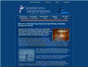 screenshot of Americana Sports Fishing