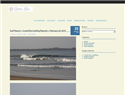 screenshot of Costa Rica Surf Reports. Surfing Forecasting and Travel.