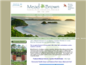 screenshot of Costa Rica Vacation Rentals - Experience Luxury Travel with Mead Brown