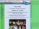 screenshot of Pura Vida Dance Camp - Alajuela, Costa Rica