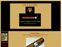screenshot of Costa Rica Cigars -Vegas Santiago SA - Cigar Manufacturer