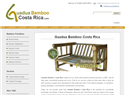 screenshot of Guadua Bamboo Costa Rica Furniture And Construction