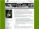 screenshot of Green Frog Rafting - Costa Rica Whitewater Adventures